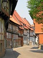 Hornburg – street with timbered houses